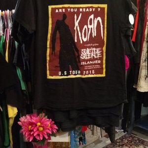 korn Tops - KORN U.S. TOUR 2015 T-SHIRT